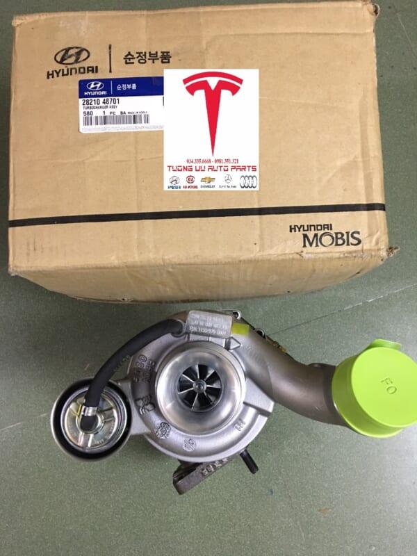 Turbo tăng áp Hyundai HD72/65 D4GA 28210-48701