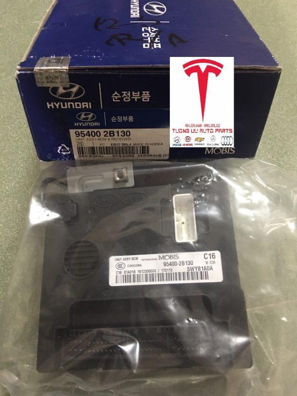 Hộp điều khiển điện thân xe BCM Hyundai santafe 2008 954002B130