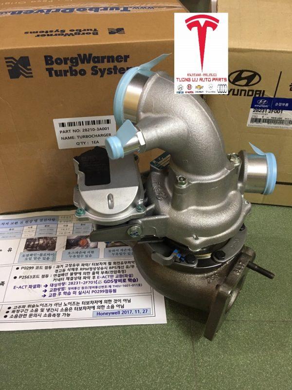 Turbo tăng áp Hyundai Veracruz V6 3.0 CRDi 282103A000