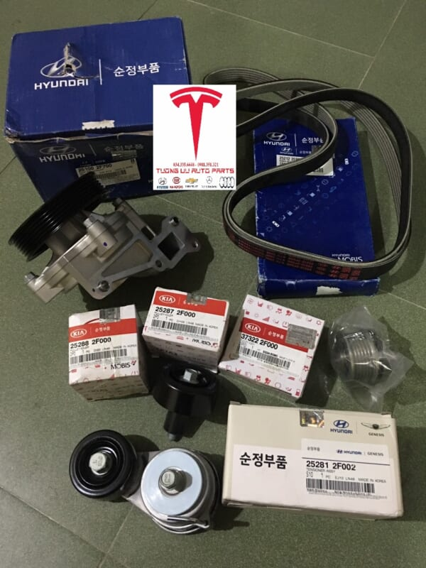 Puly máy phát Hyundai Santafe 2010 373222F000