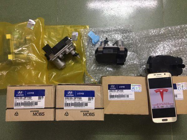 Actuator Van điên Turbo Santafe/Sorento/Sedona/Solati 282352F250/282352F700/282354A600
