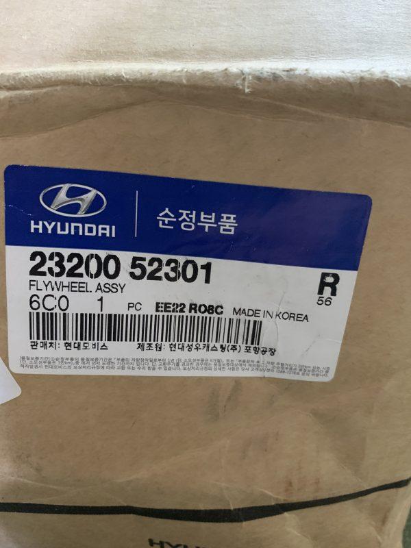 Bánh đà Hyundai HD120 D6GA 2320052301